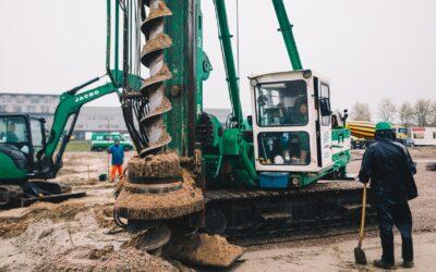 De bouw van het nieuwe bedrijfspand van Mattijssen is gestart